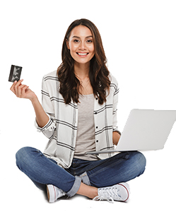 Easy Girl With Credit Card